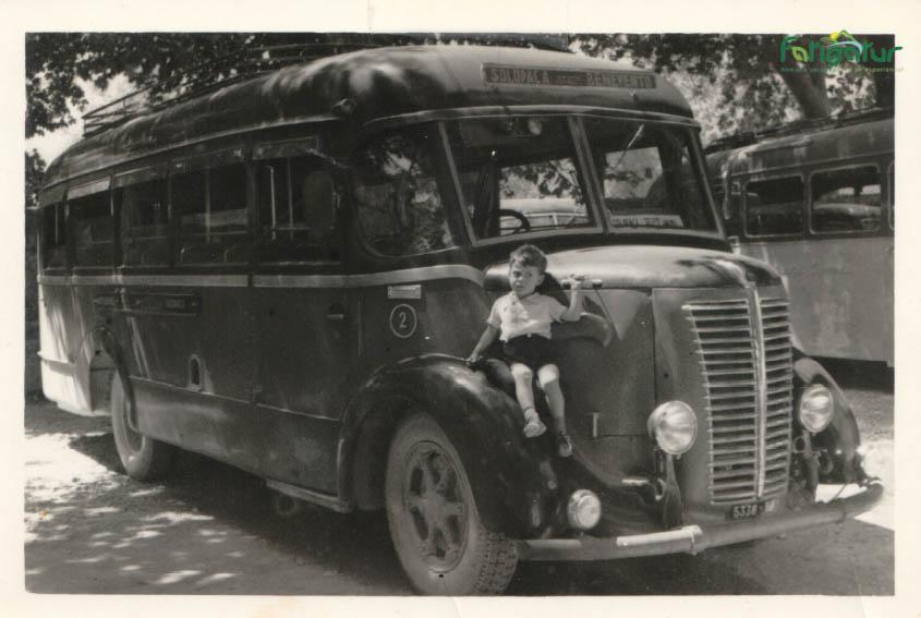 Il primo bus della ditta Giuseppe Lisella